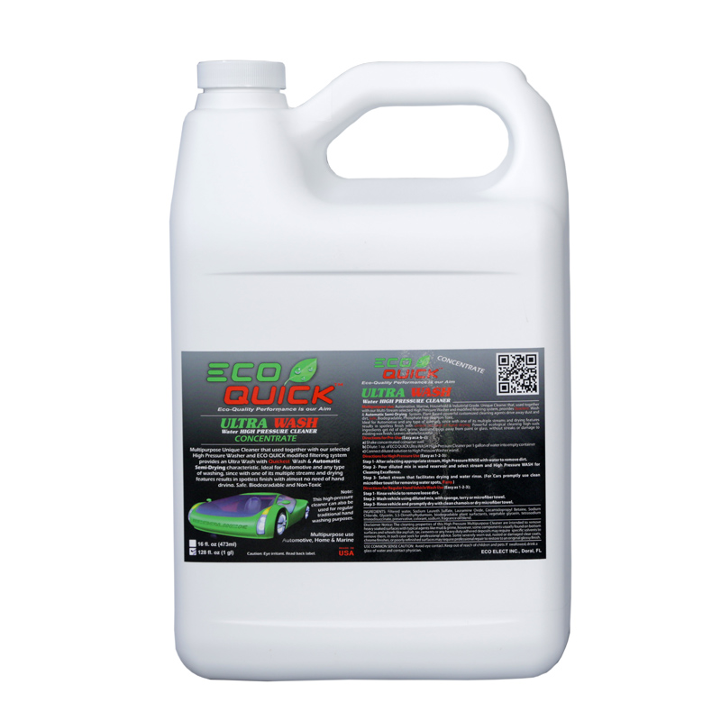 ECO QUICK ULTRA WASH CONCENTRATE 1GL